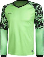 Лонгслив вратарский футбольный 2K Sport Guard / 120421 (S, светло-зеленый) -