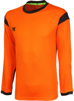 Лонгслив вратарский футбольный 2K Sport Vettore / 120436 (XXL, оранжевый/черный) -