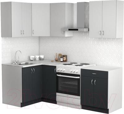 Готовая кухня S-Company Клео лайт 1.2x1.6 левая