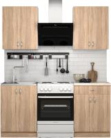 Готовая кухня S-Company Клео лайт 1.2 (дуб сонома/дуб сонома) -