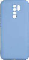 Чехол-накладка Volare Rosso Charm для Redmi 9 (серый/синий) -