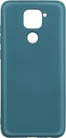 Чехол-накладка Volare Rosso Charm для Redmi Note 9 (зеленый) -