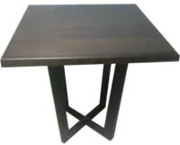 Обеденный стол Грифонсервис Loft СМ18-1 (черный/венге) -