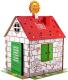 Детский игровой домик BibaLina Дом-раскраска / КДР03-003 -