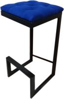 Стул барный Грифонсервис Loft СЛ15 (черный/синий) -