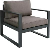 Кресло мягкое Грифонсервис Loft КР1 (черный/светлый) -