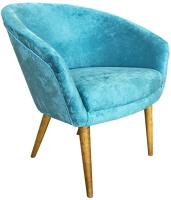 Кресло мягкое Lama мебель Тиана (Germes Mint) -
