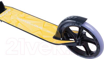 Самокат Ridex Marvellous (черный/желтый)