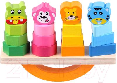 Развивающая игрушка Darvish Сортер. Качели-пирамидки / DV-T-1618