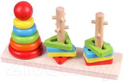 Развивающая игрушка Darvish Сортер. Геометрические фигурки / DV-T-1608
