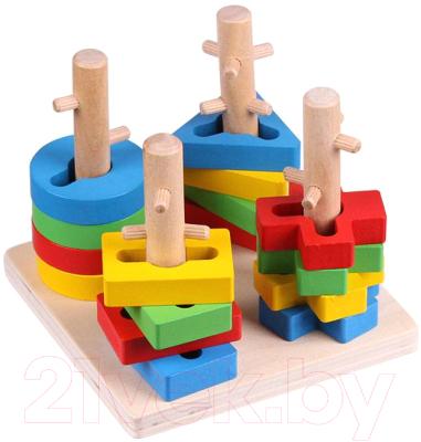 Развивающая игрушка Darvish Сортер. Геометрические фигурки / DV-T-1609