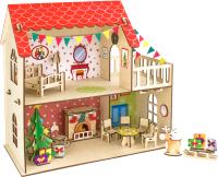 Кукольный домик Woody Кукольный дом. Зимняя сказка / 02895 -