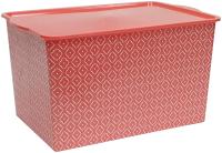 Коробка для хранения Violet С крышкой Bоно / 5531109 (14л, красный) -