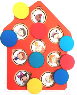 Развивающая игрушка Мастер Вуд Секреты домика / DSD