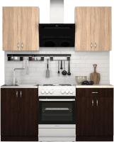 Готовая кухня S-Company Клео лайт 1.2 (венге/дуб сонома) -