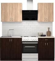 Готовая кухня S-Company Клео лайт 1.4 (венге/дуб сонома) -