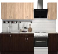 Готовая кухня S-Company Клео лайт 1.8 (венге/дуб сонома) -