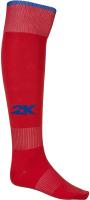 Гетры футбольные 2K Sport Classic / 120334 (adult, красный/синий) -