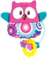 Прорезыватель для зубов Canpol С погремушкой / 68/046 (розовый) -