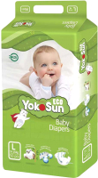 Подгузники детские YokoSun Eco L от 9 до 14кг (50шт) -