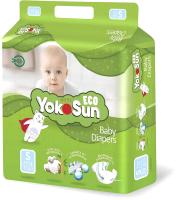 Подгузники детские YokoSun Eco S от 3 до 6кг (70шт) -