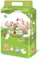 Подгузники детские YokoSun Eco M от 5 до 10кг (60шт) -