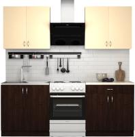Готовая кухня S-Company Клео лайт 1.6 (венге магия/песочный) -