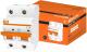 Выключатель автоматический TDM ВА 47-100 2Р 16А (C) 10кА / SQ0207-0057 -