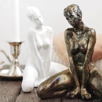 Статуэтка Нашы майстры Молодая девушка / 1043 (белый)