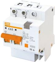 Дифференциальный автомат TDM АД-2-2Р-63А-30мА / SQ0221-0005 -