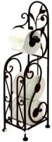 Держатель для туалетной бумаги Грифонсервис Н10 (черный) -