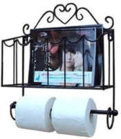 Держатель для туалетной бумаги Грифонсервис Н1 (черный) -