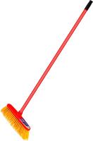 Щетка для мытья пола Vileda Outdoor с универсальной ручкой / 7119633 -