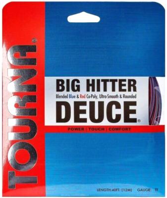 Струна для теннисной ракетки Tourna Big Hitter Deuce 1.3/12м / BH-D-16 (красный/синий)