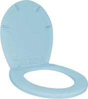 Сиденье для унитаза Plastic Republic BQ2600ГЛП (голубой пастельный) -