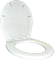 Сиденье для унитаза Plastic Republic BQ2600МР (мраморный) -