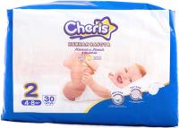 Подгузники детские Cheris 2 S 4-8кг / S6330 (30шт) -