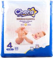 Подгузники детские Cheris 4 L 9-14кг / L6320 (20шт) -