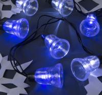 Светодиодная гирлянда Luazon Нить 4464603 (белый/синий) -