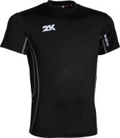 Футболка спортивная 2K Sport Waterloo / 122702 (XS, черный) -