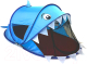 Детская игровая палатка Фея Порядка Акула / CT-100 (светло-синий) -