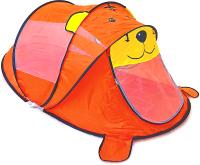 Детская игровая палатка Фея Порядка Тигренок / CT-105 (желтый/оранжевый) -