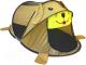 Детская игровая палатка Фея Порядка Лучший друг / CT-120 (желтый/бежевый) -