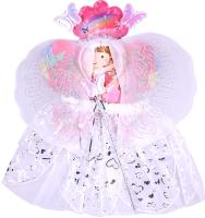 Карнавальный набор Darvish Фея 4 / DV-T-1719 (юбочка, волшебная палочка, ободок, крылышки) -