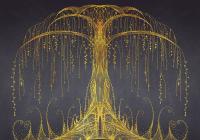 Фотообои Citydecor Золотое дерево (200x140) -