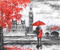 Фотообои Citydecor Лондон акварель 2 (300x254) -