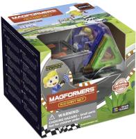 Конструктор магнитный Magformers RC Kart Set / 707018 (13эл) -