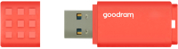 Usb flash накопитель Goodram UME3 16GB Orange (UME3-0160O0R11) -