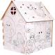 Детский игровой домик Zabiaka Дом-раскраска. Милые принцессы / 5091383 -