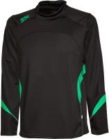 Лонгслив спортивный 2K Sport Energy / 121129 (134, черный/зеленый) -